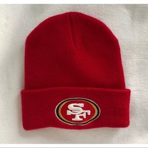 Cuffed Knit Embroidered SF 49ERS Beanie